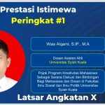 Dosen Ilmu Pemerintahan Unsyiah Raih Prestasi Istimewa #1 Latsar Angkatan X