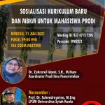 Prodi Ilmu Pemerintahan FISIP USK Sosialisasi Kurikulum dan Program MBKM